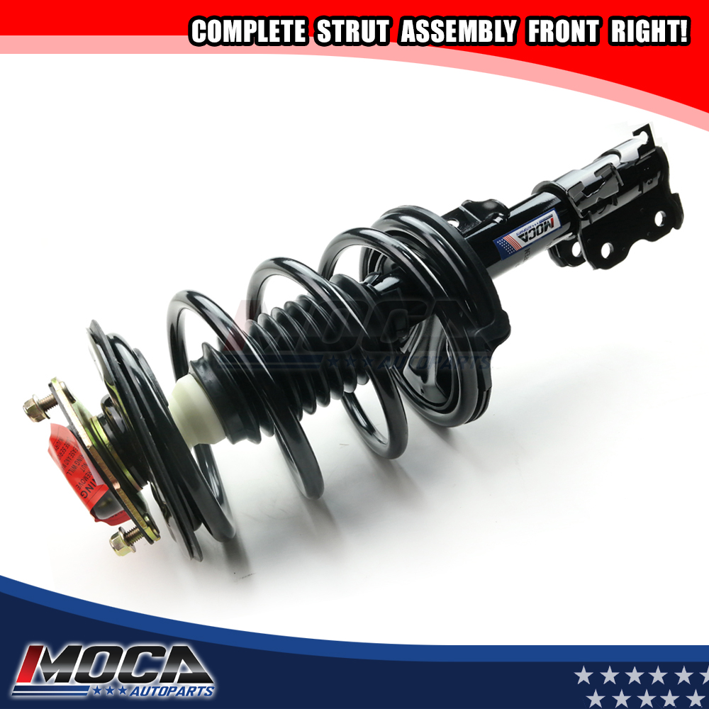 For 2002-03 Nissan Maxima 3.5L 2 Front Complete Struts Shocks Springs Assembly