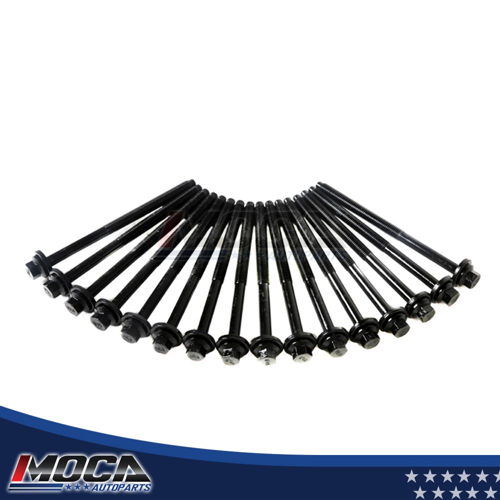 2.5L 3.0L Cylinder Head Bolts 95-09 Ford Mazda Mercury DOHC V6 DURATEC