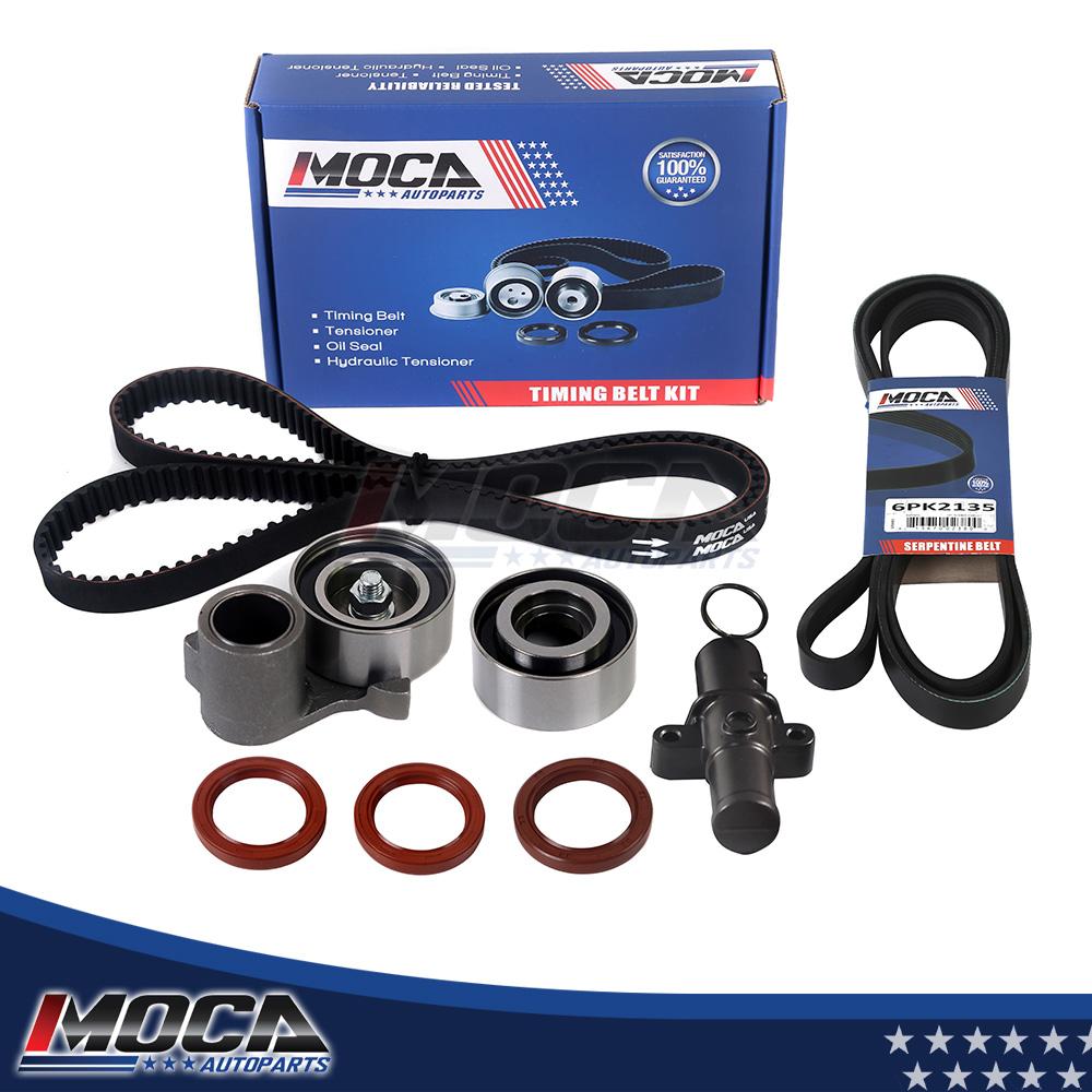 Timing Belt Serpentine Belt Kit For 03-08 Honda Pilot